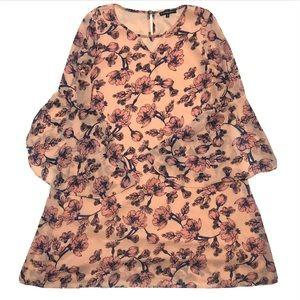 My Michelle Girls Pink Floral Dress (16)